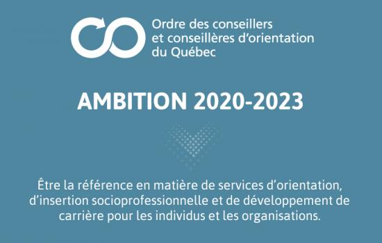 OCCOQ : Ambition 2020-2023